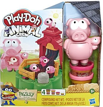 Play Doh PLAY DOH Animal Crew Pigsley seatud, E67235