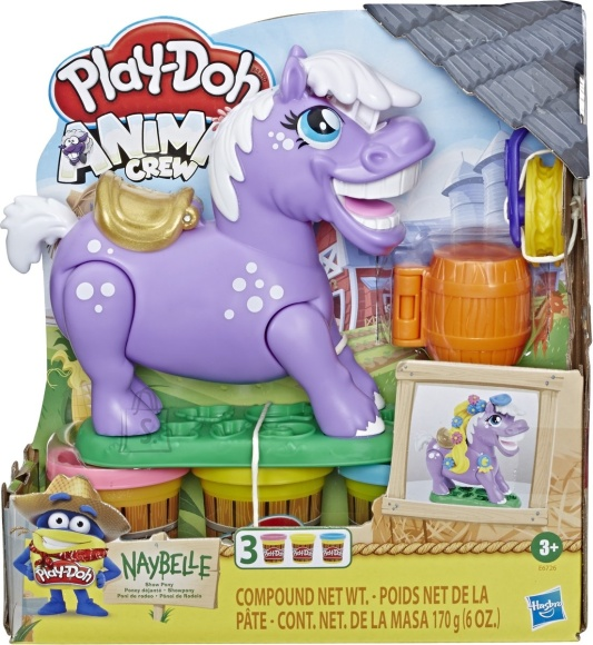 Play Doh PLAY DOH Animal Crew Pony seatud, E67265