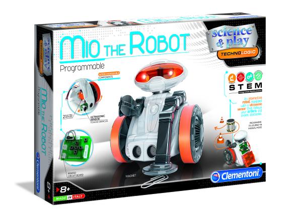 CLEMENTONI Robot Mio, 75021BL/75053