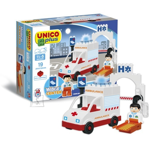 UNICO Konstrueeritav kiirabi auto, 8543-0000