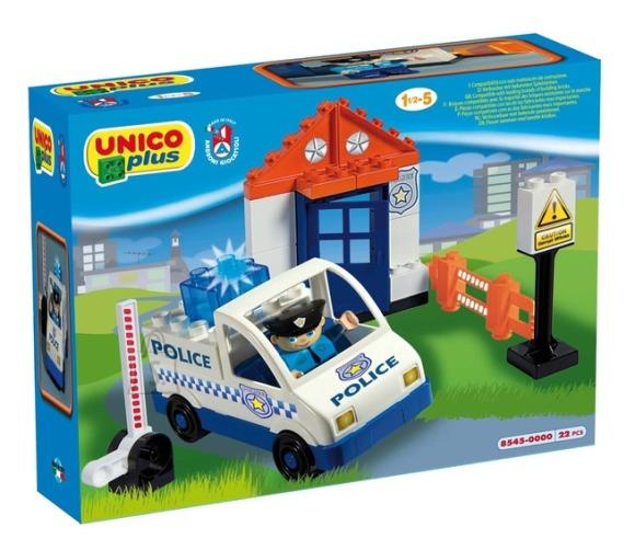 UNICO Konstrueeritav politseiauto, 8545-0000