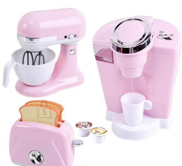PLAYGO köögiseadmed roosa (keedukann, mikser, röster), 38236