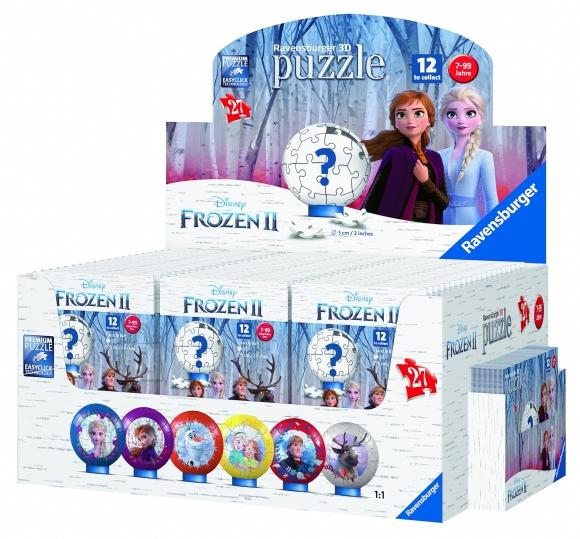 RAVENSBURGER 3D pusle Frozen 2, 11168