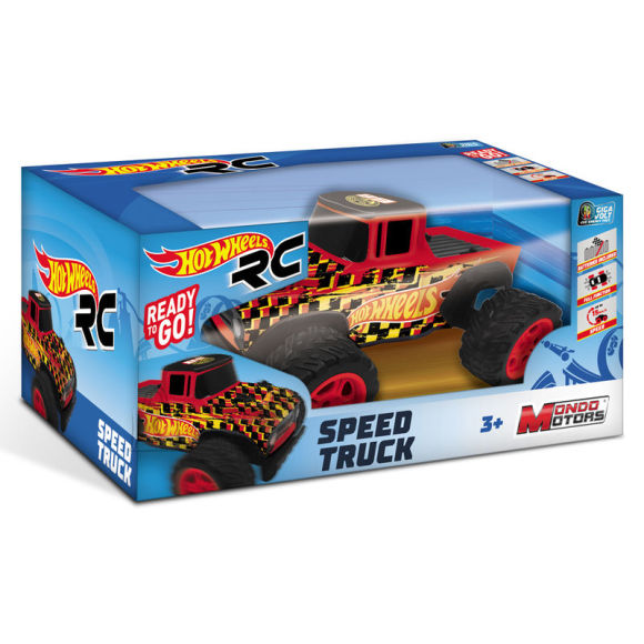 HOT WHEELS auto RC Speed Truck, 63587