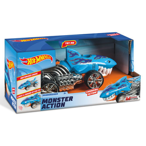 HOT WHEELS auto Monster Action Sharkruiser, 51204