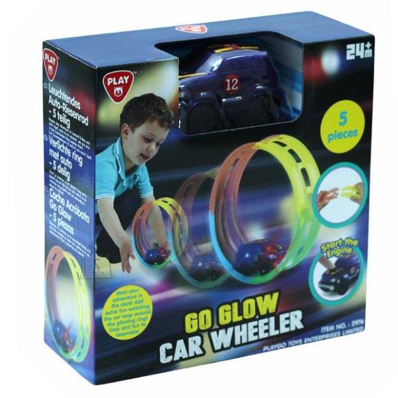 PLAYGO autorada GO GLOW CAR WHEELER, 5 pcs, 2976
