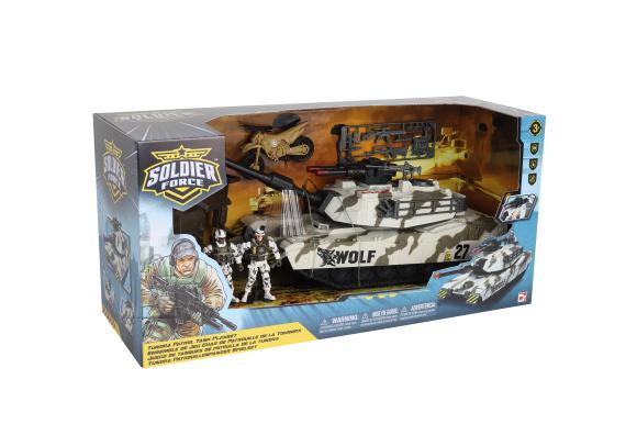 CHAP MEI Soldier Force Tundra Patrol Tank mängukomplekt, 545062