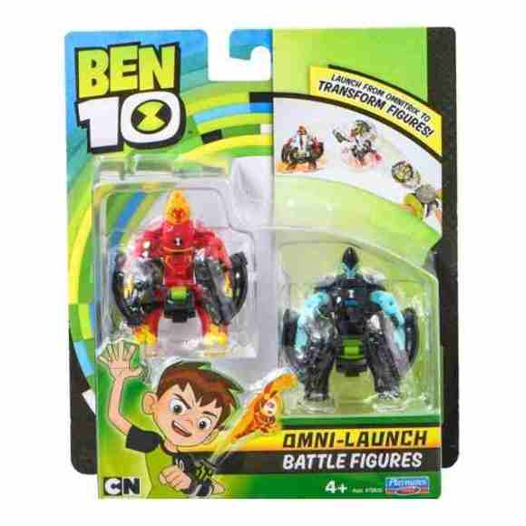 BEN10 Transformer figuurid Fourarms + Wild Vine, 76637