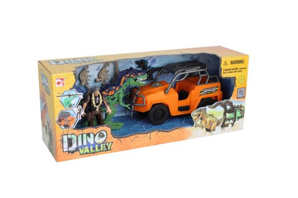 CHAP MEI mängukomplekt Dino Valley Dino Attack, asort., 542018