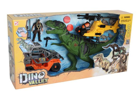 CHAP MEI Dino Valley T-Rex Revenge Playset mängukomplekt, 542090
