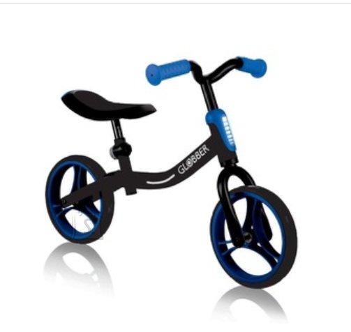 GLOBBER tõukeratas Go Bike melns/sinine, 610-130