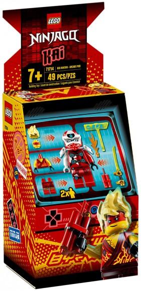 71714 LEGO® NINJAGO® Kai avatar – mängukarbike