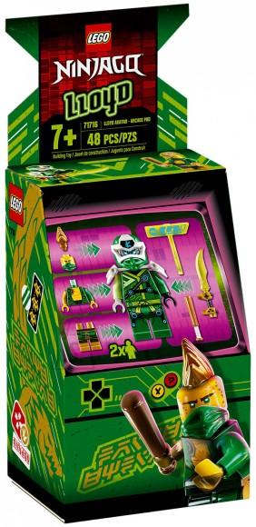 71716 LEGO® NINJAGO® Lloydi avatar – mängukarbike