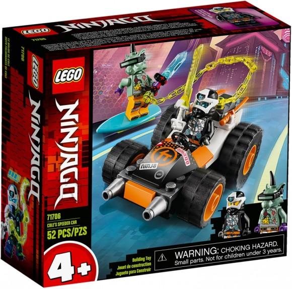 71706 LEGO® NINJAGO® Cole'i kiirauto