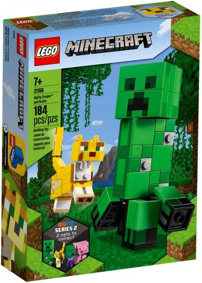 21156 LEGO® Minecraft™ BigFig Creeper™ ja Otselot