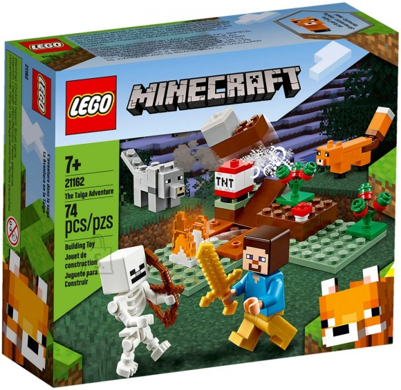 21162 LEGO® Minecraft™ Seiklus taigas