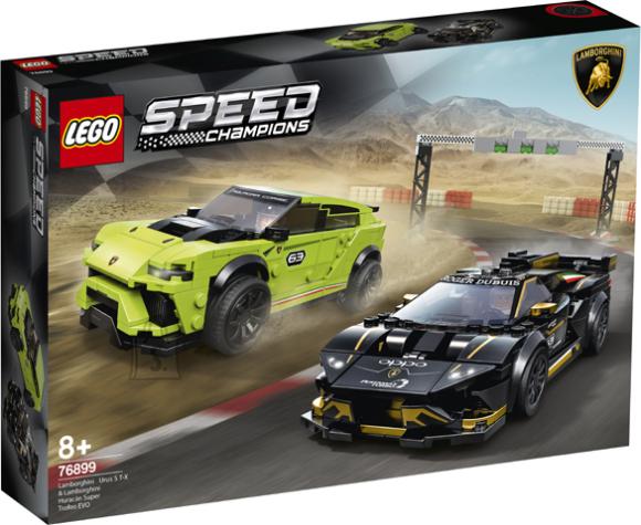 76899 LEGO® Speed Champions Lamborghini Urus ST-X & Lamborghini Huracán Super Trofeo EVO