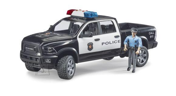 BRUDER RAM 2500 politsei veoauto koos politseinikuga, 02505