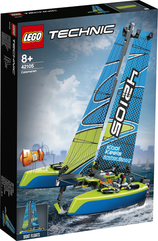 42105 LEGO® Technic Katamaraan