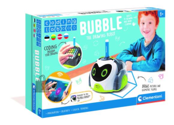 CLEMENTONI robot Bubble (LT+LV+EE), 50340
