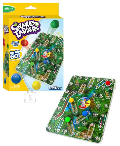 FUNVILLE GAMES Ussid ja redelid 3D mäng, reisiversioon, 61145