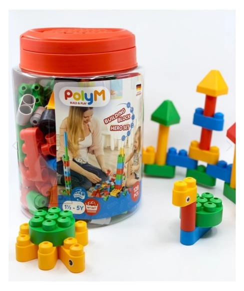 HAPE ehituskomplekt PolyM Building Block, 760084