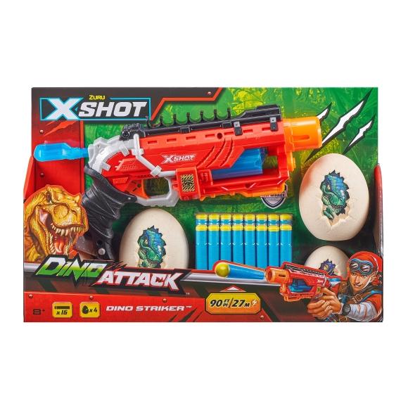 XSHOT-DINO ATTACK mängupüstol Dino Striker, 4860