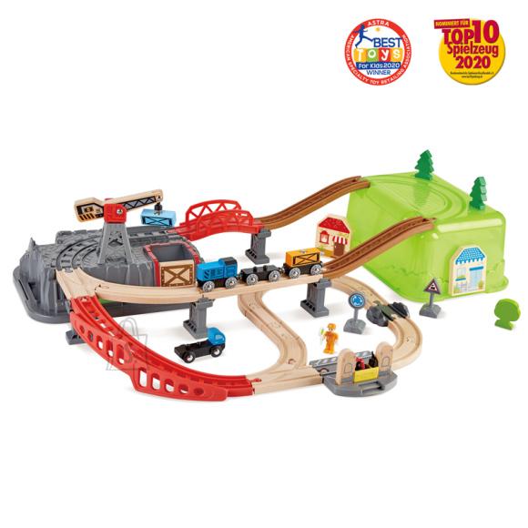 Hape HAPE raudtee ehituse komplekt Railway Bucket, E3764