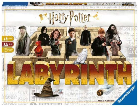 RAVENSBURGER lauamäng Harry Potter Laburünt, 26082