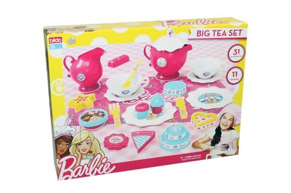 BILDO suur teekomplekt Barbie, 2109