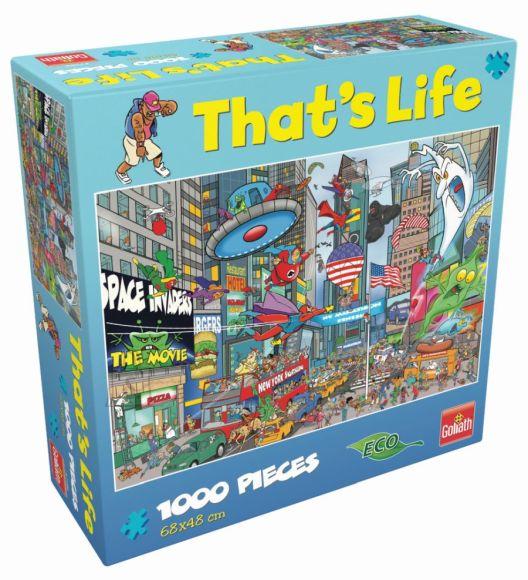 THAT'S LIFE pusle New York, 1000pcs, 71386.006