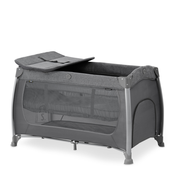 Hauck HAUCK reisivoodi Play N Relax Center Melange Charcoal