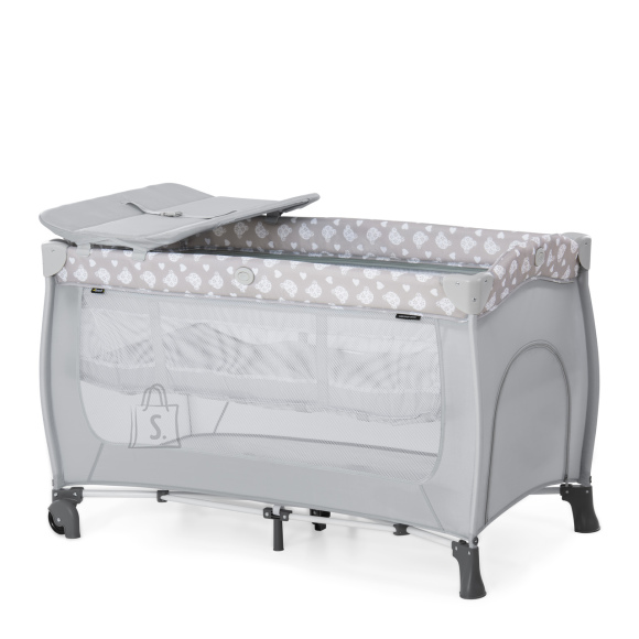 Hauck HAUCK reisivoodi Sleep N Play center Teddy Grey