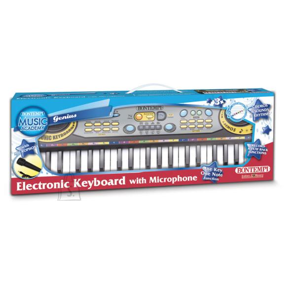 BONTEMPI elektrooniline klaviatuur mikrofoniga, 12 3730