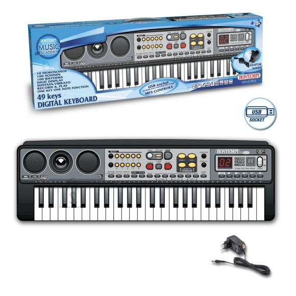BONTEMPI digitaalne klaviatuur 49 klahviga, 15 4900