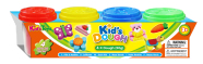 Kid's Dough voolimismass 4x50 g