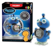 Paulinda voolimiskomplekt Super Dough Liikuv helendav robot, sinine