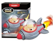 Paulinda voolimiskomplekt Modelleerimisvaht Kosmoselaev, punane
