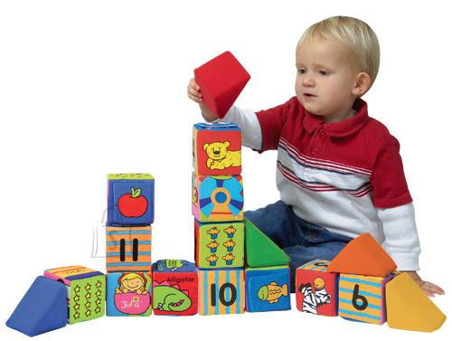 K's Kids suured ehitus- ja õppeklotsid