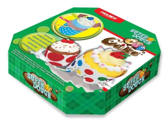 Paulinda voolimiskomplekt Super Dough Kreemikook