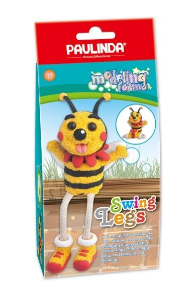 Paulinda modelleerimisvaha Rippuvate Jalgadega Mesilane