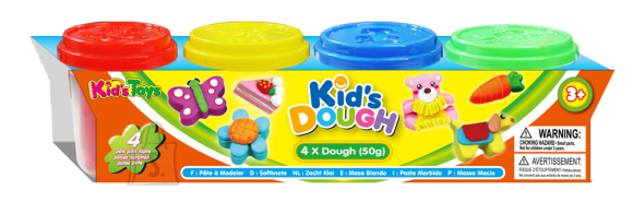 Kid's Dough voolimismass 4x50 g