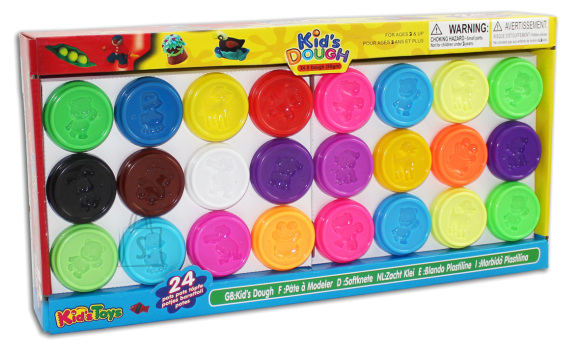 Kid's Dough voolimismass 24x50 g