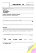 SULEMEES Kaetud tööde akt A4, isekopeeruv, 3x25 lehte