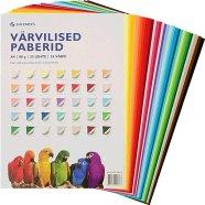 SULEMEES Värvilise paberi komplekt ( 80g, 35 lehte, 35 värvi)