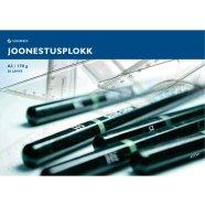 SULEMEES Joonestusplokk A3, 170g, 20 lehte