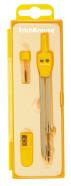 ErichKrause Sirkel S-COOL, 13,5cm, assortii(sinine,kollane,roheline,punane)