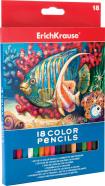 ErichKrause Värvipliiatsid 18 värvi