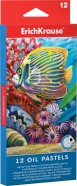 ErichKrause Õlipastellid  12 värvi, kolmnurksed