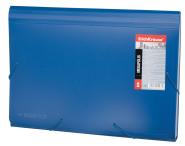 ErichKrause Lõõtsmapp nurgakummiga MEGAPOLIS A4, 12osa, sinine